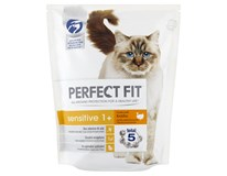 Perfect Fit Sensitive krůtí granule pro kočky 1x1,4kg