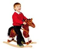 Kůň houpací se zvukem 57cm 1ks