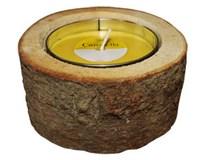 Svícen dřevěný Citronella 1ks