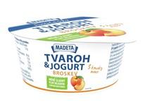 Tvaroh s jogurtem broskev chlaz. 1x135g