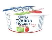 Tvaroh s jogurtem jahoda chlaz. 1x135g