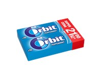 Wrigley's Orbit Peppermint žvýkačky duopack 15x28g
