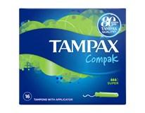 Tampax Compak super tampony 1x16ks