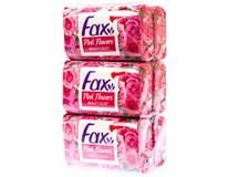 Fax Růžové květy mýdlo 6x90g