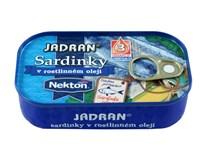 Jadran Sardinky v oleji 4x125g