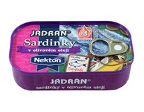 Jadran Sardinky v olivovém oleji 4x125g