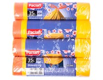 Pytle na odpadky zatahovací Paclan 35L 4x14ks