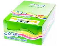 PEZ hroznový cukr citrónový 27x39g