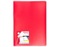 Kniha katalogová Esselte Vivida 20listů červená 1ks