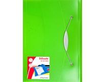 Desky spisové Esselte Vivida polypropylen zelené 1ks