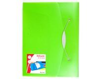 Box na spisy Esselte Vivida polypropylen zelený 1ks