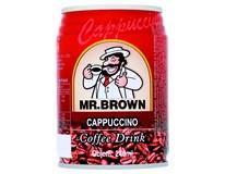 Mr. Brown Ledová káva Cappuccino 6x240ml