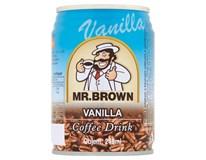 Mr.Brown Ledová káva Vanilla 6x240ml