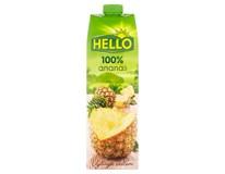 Hello Ananas 100% džus 12x1L