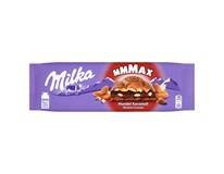 Milka Mmmax Almond Caramel mléčná čokoláda a mandle 1x300g