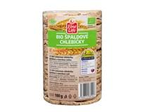 Fine Life Špaldové chlebíčky celozrnné s mořskou solí BIO 1x100g