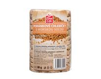 Fine Life Pohankové chlebíčky s mořskou solí 100% natural celozrnné 1x80g