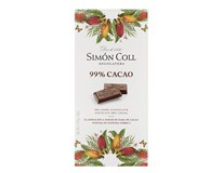 Simon Coll čokoláda extra hořká 99% 1x85g