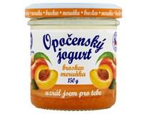 Opočenský jogurt 2,8% tuku broskev/meruňka chlaz. 1x150g