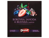 Druid Čaj borůvka/jahoda/bez/máta 1x27g