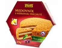 Můj dortík Medový višeň chlaz. 1x670g