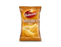 Bohemia Vroubkované chipsy hořčice 1x130g