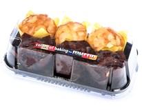 Muffin mini světlé+tmavé mix 1x270g/6ks box