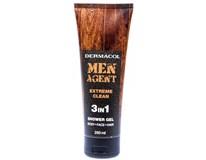 Dermacol Men Agent Extreme Clean sprchový gel 1x250ml