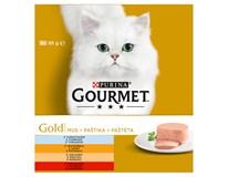 Gourment Gold paštika pro kočky 8x85g