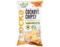 Chipsy čočkové s mořskou solí 1x65g