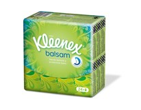 Kleenex Balsam kapesníky 4-vrstvé 24x9ks