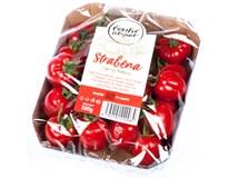 Rajčata Cherry podlouhlá Strabena CZ čerstvá 1x500g vanička