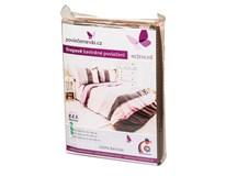 Povlečení krepové Pink 70x90/140x200cm bavlna 1ks