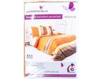 Povlečení krepové Bari 70x90/140x200cm bavlna 1ks