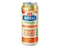 Birell Ochucený jablko/zázvor nealkoholické pivo 12x400ml plech