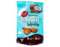 Sušenky kokosové polomáčené 1x120g