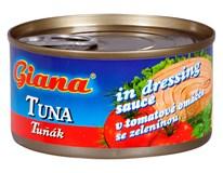Giana Tuňák kousky v rajčatové omáčce se zeleninou 6x185g