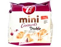 7Days Mini Double croissant vanilka-višeň 1x200g