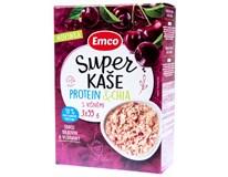 Emco Super Kaše proteinová chia/višně 3x55g