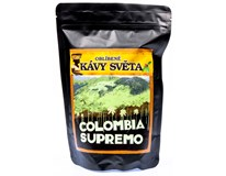 Kávy světa Columbia Supremo káva zrno 1x250g