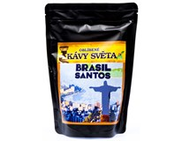 Kávy světa Brasil Santos káva zrno 1x250g