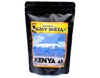 Kávy světa Kenya AB+ káva zrno 1x250g