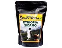 Kávy světa Ethiopia Sidamo káva zrno 1x250g