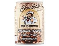 Mr. Brown Chocolate 6x240ml plech