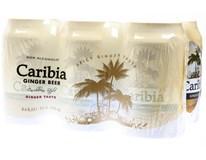 Caribia Ginger Beer 24x330ml plech