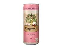 Kingswood Cider Sweet Rosé 24x330ml plech