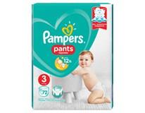Pampers Pants Giant pack Midi S3 plenkové kalhotky 1x72ks