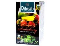 Dilmah Čaj černý mango/jahoda 1x40g