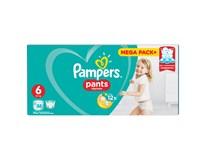 Pampers Pants Mega Box Extra Large S6 plenkové kalhotky 1x88ks
