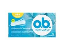 O.B. Tampony Pro Comfort  Normal 1x32ks